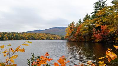 Thorndike Pond view of Mt. Monadnock - 1
