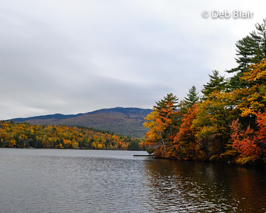 Thorndike Pond view of Mt. Monadnock - 1