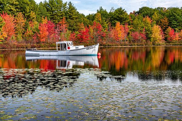 Land-locked Lobster Boat