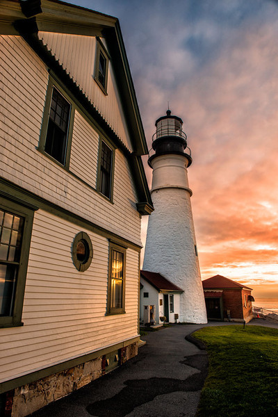 Portland Head Lighthouse<br /> Cape Elizabeth, Maine