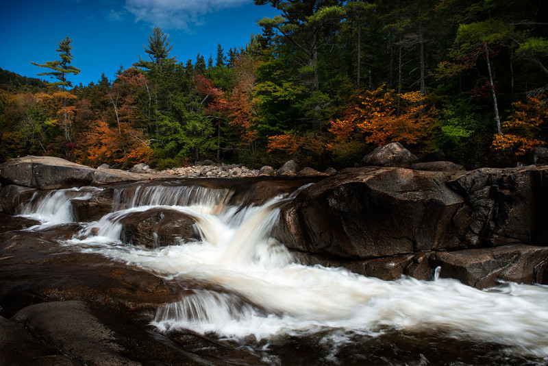 Lower Falls on the Swift River<br /> New Hampshire