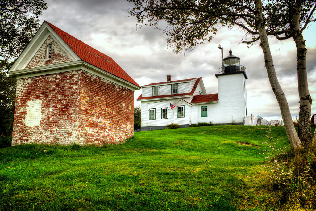 Fort Point Lighthouse<br /> Maine