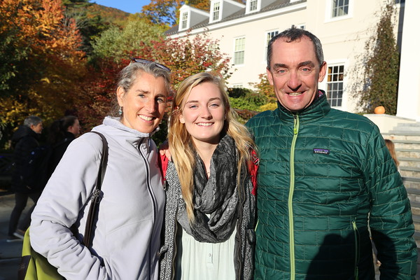 Fall Parents' Weekend 2015
