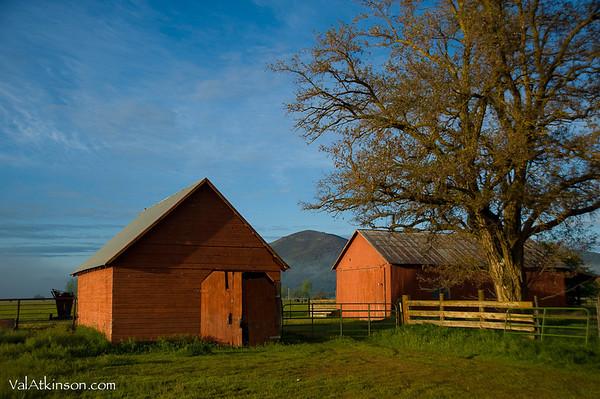 barns of Burgettville