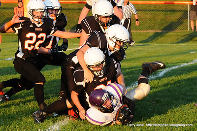 Jonesville vs Concord JV Football