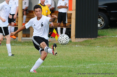 Jonesville vs Jackson Christian Boys Soccer