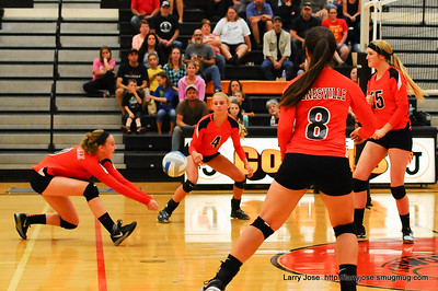 Jonesville vs Quincy Varsity Volleyball