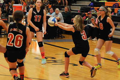 Jonesville vs Union City 7th Grade Girls Volleyball