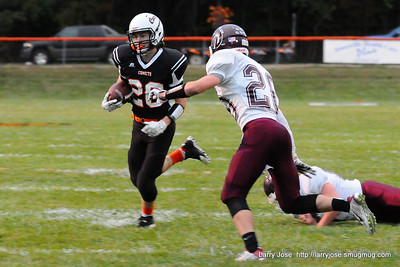 Jonesville vs Union City Varsity Football