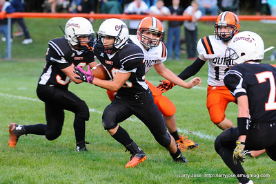 Jonesville vs Quincy Varsity Football