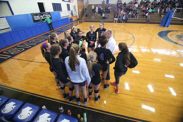 WCAC Volleyball Championship: Holy Cross vs. Good Counsel