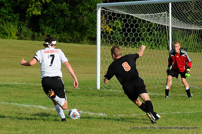 Jonesville vs Quincy Varsity Soccer