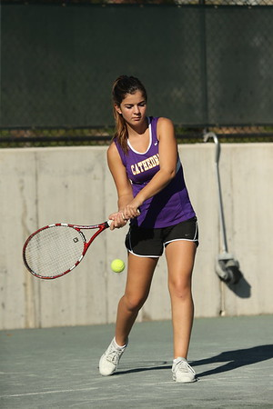 Tennis: Cathedral vs. Maret