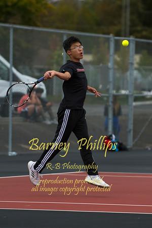 Cardinal Boys Tennis 10-3-2019.....by Barney
