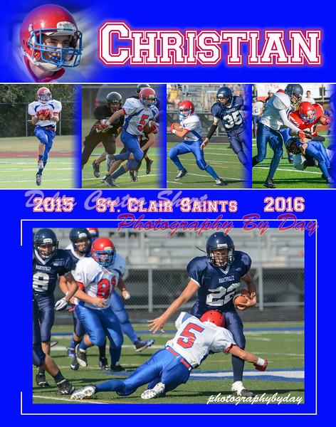 ChristianJabiroFootball 2015-2016 11x14