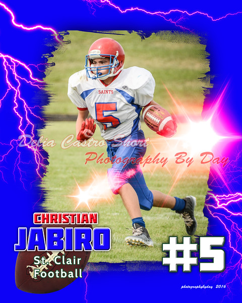 ChristianJabiro football lightning2016