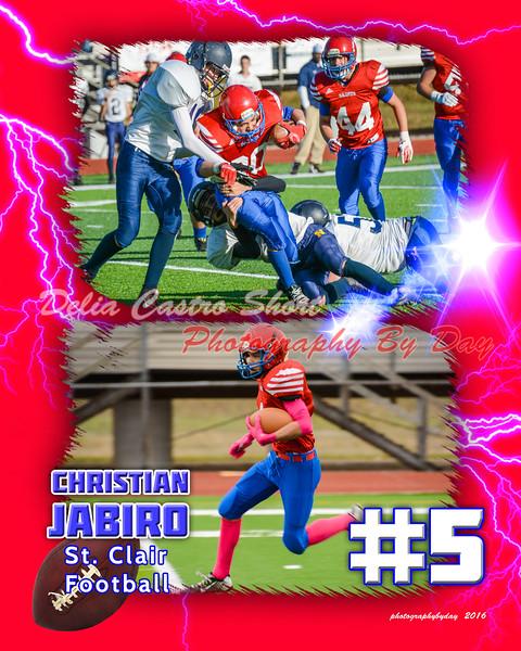 ChristianJabiro2 football lightning2016