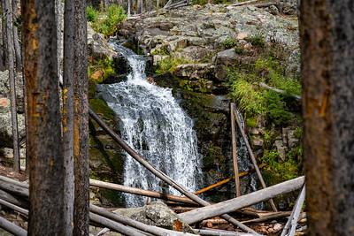 Upper Memorial Falls,, Montana MK5D5605