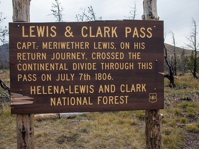 Lewis and Clark Pass signage on Continental Divide IMG_0394-1