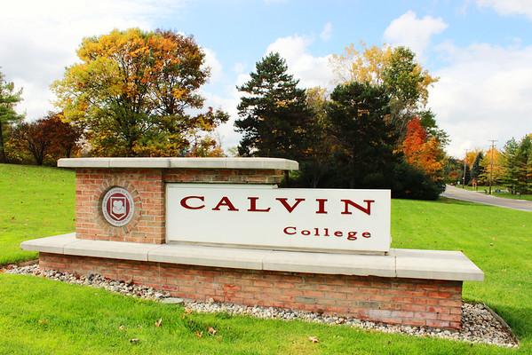 Fall at Calvin
