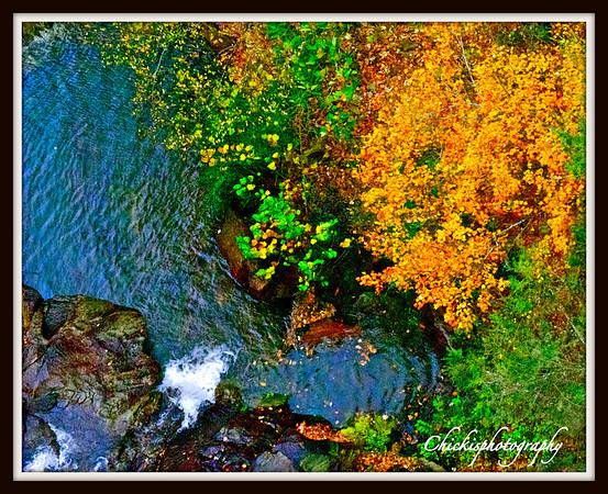 Fall at Talluah Gorge