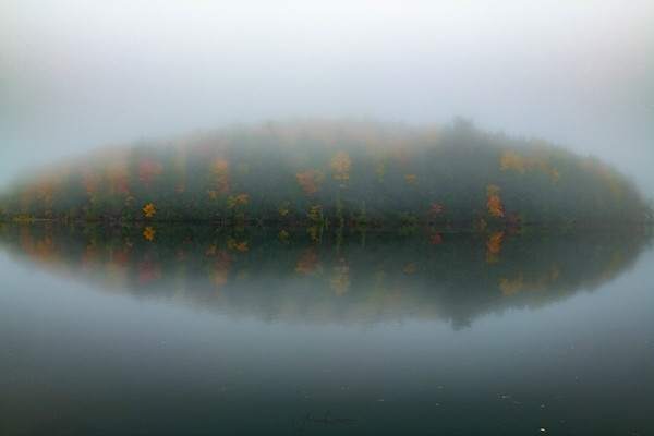 Foggy Morning at Pete's Lake