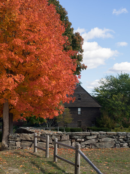 Waters Farm in Fall