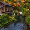 Cedar Creek, The Grist Mill and The Fall Colors