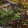 Fall at the Cedar Creek Grist Mill 2015.