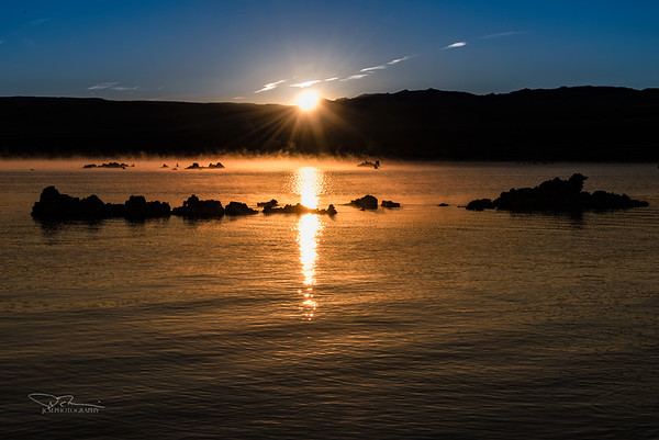 South Mono Lake Sunrise