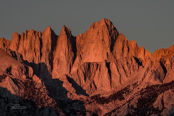 Mt. Whitney Alpenglow