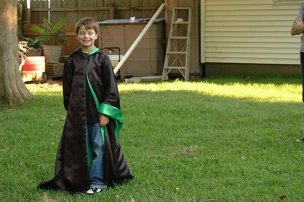 Brady, Wizard of Hogwarts.