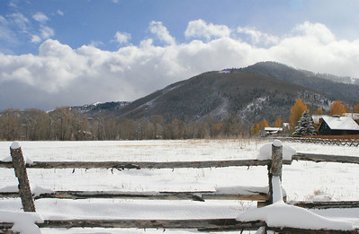 The Fall Colors make this early season Snow fall a spectacular sight.  Park City Utah October 25th 2012