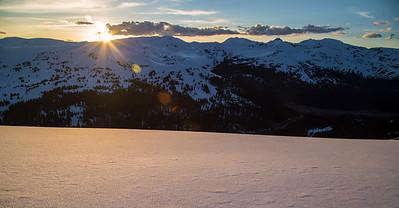 Loveland Pass Sunset