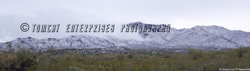 Snowy Desert Mountains