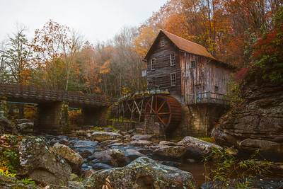 Mill in the Mist