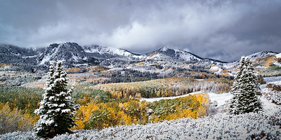 First Snow at Guardsman Pass