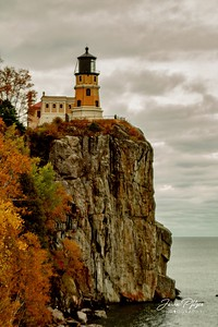 Split Rock Lighthouse in the fall. Enjoy and hold hands.