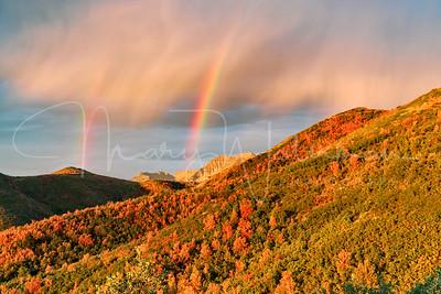 Double Rainbow at Timpanogos