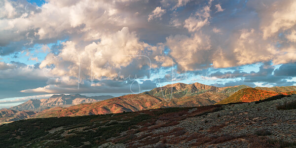 Wasatch Back Early Fall Sunrise
