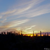 The First Sunset of 2015 - Tucson, AZ