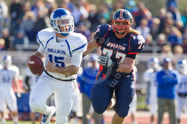 Wheaton College Football vs Millikin, October 27, 2012