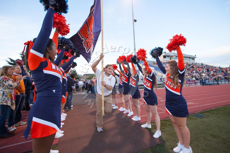 Wheaton College Football vs Albion College (66-0)