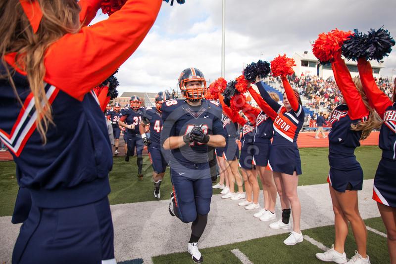 Wheaton College Football vs North Central College, November 9, 2013
