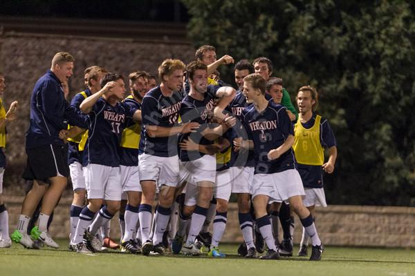 Wheaton College Men's Soccer vs Washington University, September 28, 2013