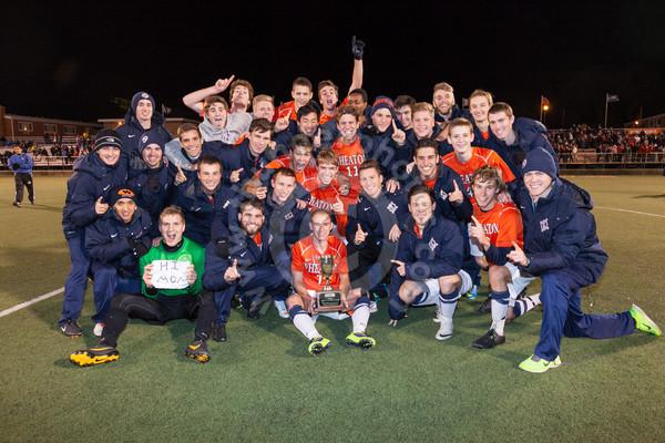 Wheaton College Men's Soccer vs Carthage (CCIW Championship Game)