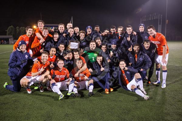 Wheaton College Men's Soccer vs North Park, November 1, 2013