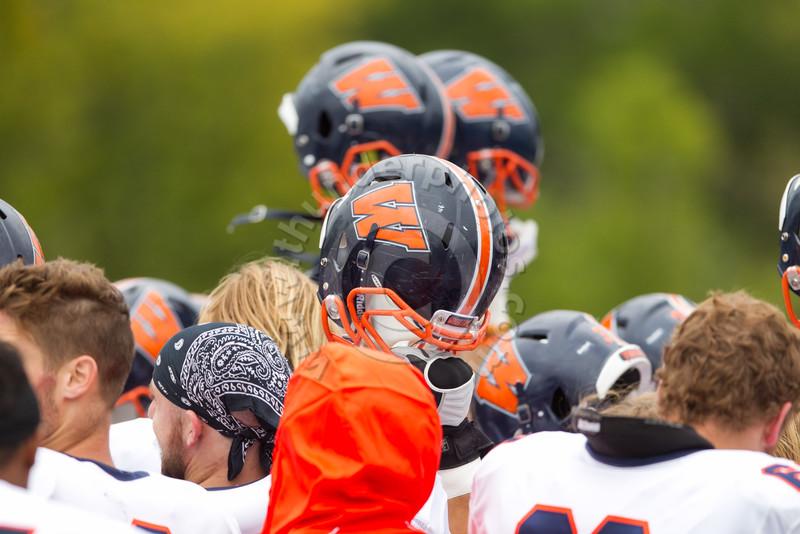 Wheaton College Football vs North Park University, October 3, 2015