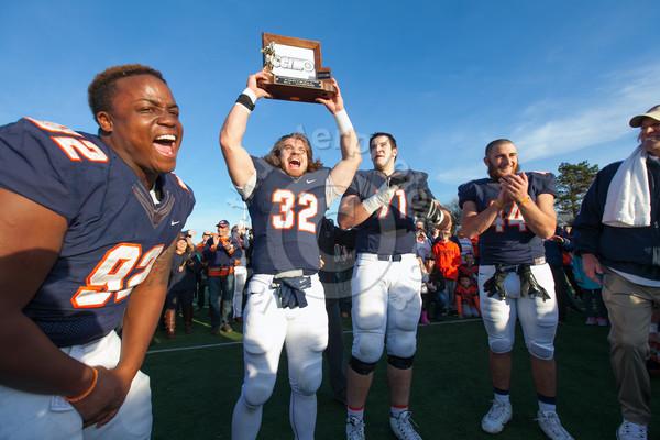Wheaton College Football vs Carthage, November 14, 2015