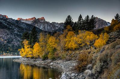 mountain-lake-leaves-1